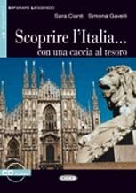 Scoprire L'italia Con Una Caccia (Read and Learn Level 2-blue) (Italian Edition)