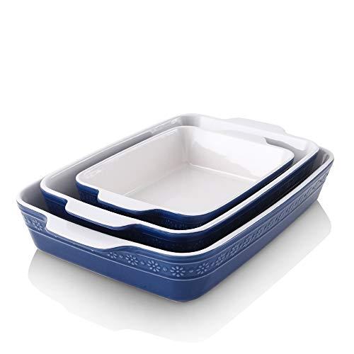 Ceramic Baking Dish Set,