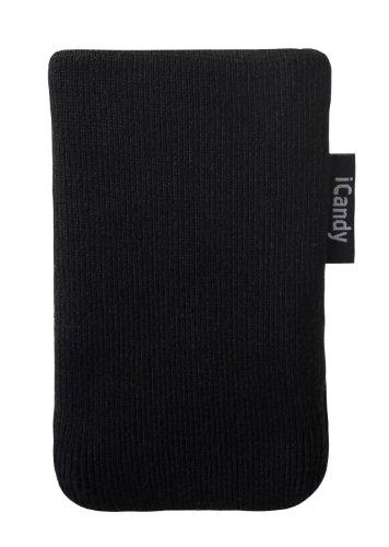 iCandy ICD2309 - Calcetín/funda para smartphones, color negro