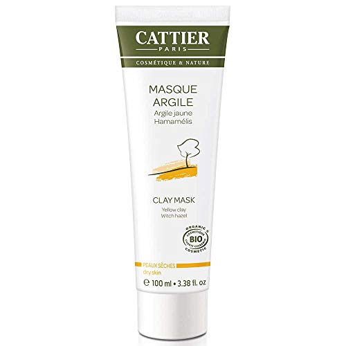 Cattier Masque à l'Argile Jaune Bio 100 ml
