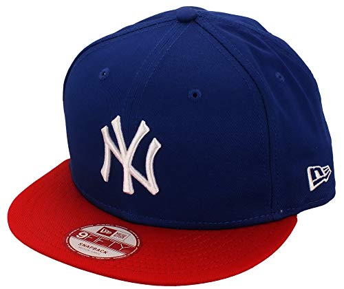 New Era New York Yankees Snapback MLB Cotton Block 9fifty Royal/Red/White - M - L