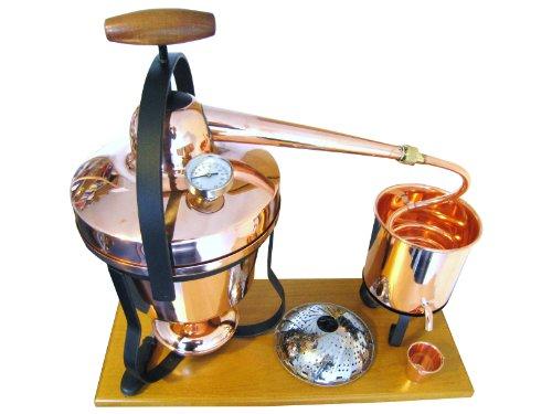 Dr. Richter® Destille Tradition 2 Liter für ätherische Öle/Hydrolate (anmeldefrei) 2L