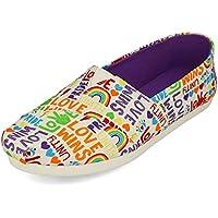 Toms Unity Love Wins Pride Canvas Women's Alpargata Shoes