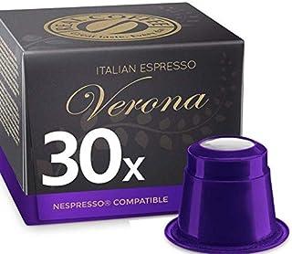 Espresso Verona by REAL COFFEE, Denmark, 30 Capsules, Nespresso Compatible