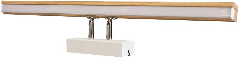 J.SUNUN Wandleuchte, Moderne minimalistische LED-Spiegel Scheinwerfer Badezimmer Badezimmer Spiegelschrank Beleuchtung Nordic Beleuchtung Badezimmer Lampe (Farbe   Positive Weiß Light)