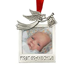 baby's first christmas ornament angel