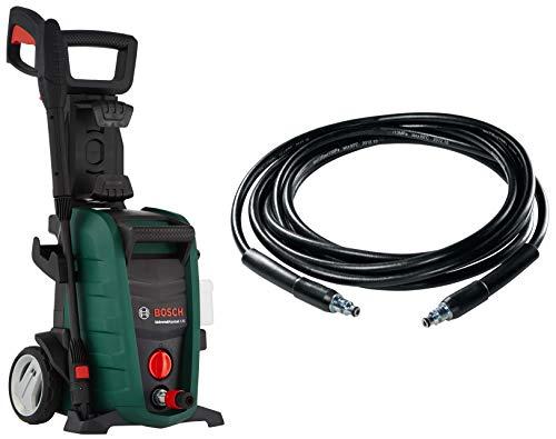 Bosch Aquatak 125 1500-Watt High Pressure Washer (Green) & Bosch F016800360 6m High Pressure Hose (Black)