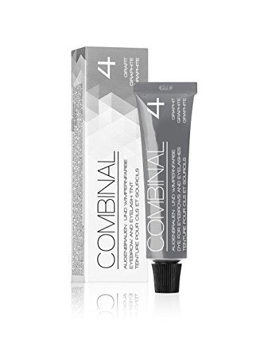 COMBINAL Professional GRAPHITE - GREY Cream Hair Dye (0.5 oz)