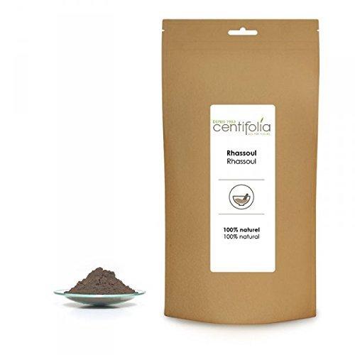 Centifolia - Argiles Pures et Naturelles - Rhassoul - Argile Saponifier - 250g - Lot de 2