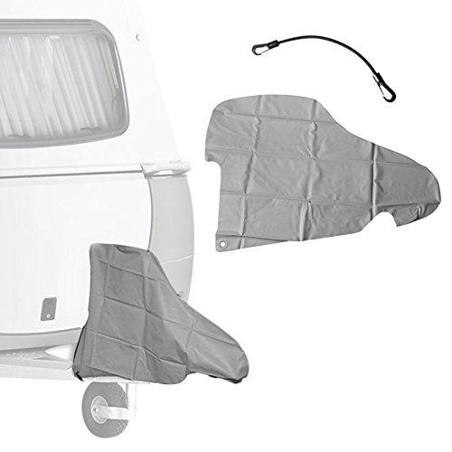 ProPlus Deichselschutzhaube für Deichsel und Stützrad inkl Gummispanner - 87,5 x 61 cm aus 100% PVC