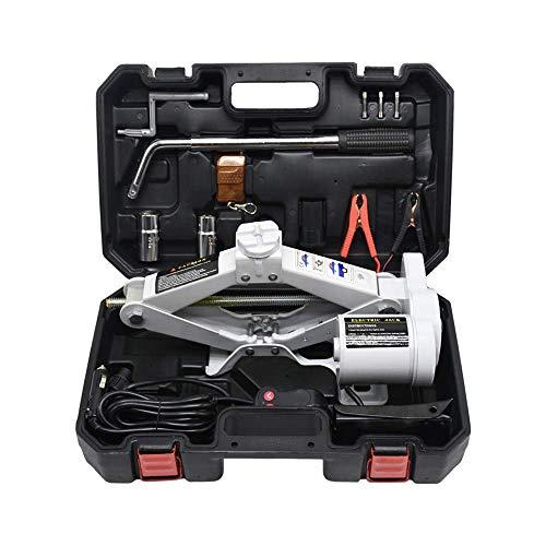 Lift Jack, Scissor Car Electric Floor Jack, Auto Jack, 12V elektrische aansluiting set, jack combinatie set, 2T ZHANGKANG (Color : 2T)