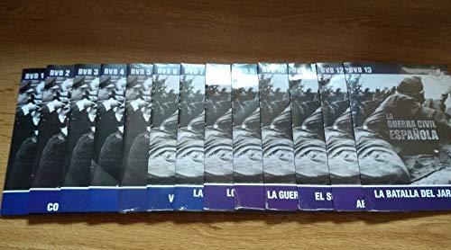La Guerra Civil Española - Colección Completa. · Grandes documentales, 13 DVD...