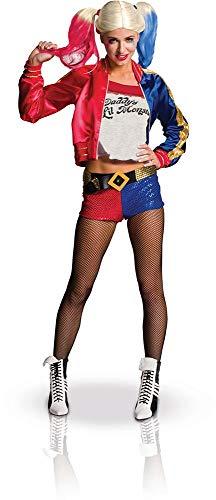 Generique - Disfraz Harley Quinn Adulto Deluxe - Escuadrón Suicida XS
