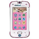 VTech – KidiCom Max Rose – Smartphone pour enfant évolutif, ultra résistant, sécurisé, avec appareil photo intégré – Version FR