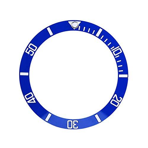 Wosune Anello di Inserimento dell'orologio, Parte di Ricambio dell'anello della Lunetta dell'orologio Parte di Ricambio dell'orologio 4 Colori Orologio da Polso per la(Blue)