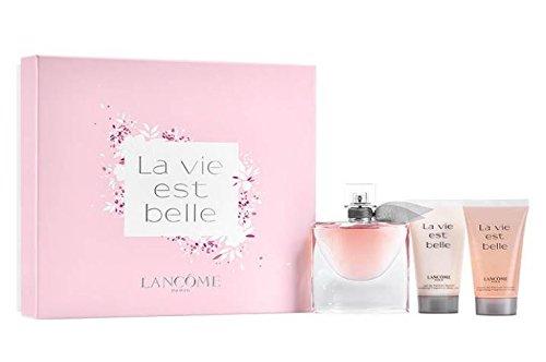 Lancôme La Vie Est Belle Set (Eau de Parfum, 50 ml + Körperlotion, 50 ml +Duschgel, 50 ml