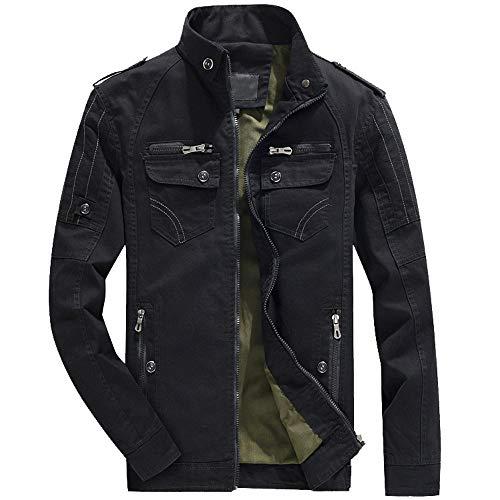 FRAUIT wintermantel heren jongen winterjas lange jas herfst winter overloopjas heren warm ademend comfortabel slijtvast werkkleding rits top outwear blouse M-6XL