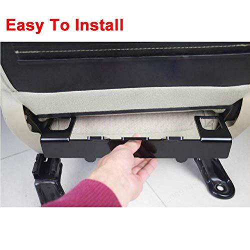 YUNB Kit di Fissaggio per Ancoraggio di ritenuta Seggiolino Auto Universale per connettore ISOFIX per Cintura di Sicurezza