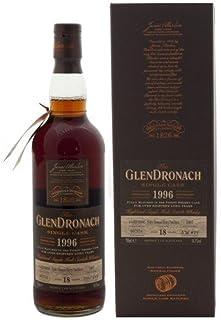 Glendronach 18 Years Old 1996 Pedro Ximenez Sherry Cask mit Geschenkverpackung Whisky 1 x 0.7 l