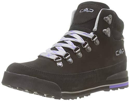 CMP Heka, Chaussures de Randonnée Hautes Femme, (Nero U901), 37 EU