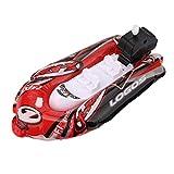 Fliyeong Premium Qualität Mini Aufblasbare Yacht Boot Kinder Bad Spielzeug Pool Spielzeug...
