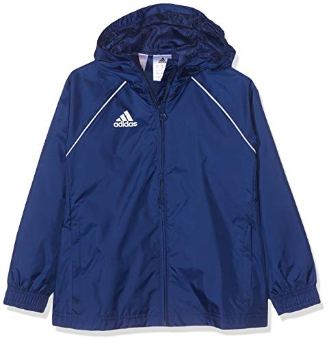 adidas CORE18 RN JKT Y, blau(dark blue/White), 164