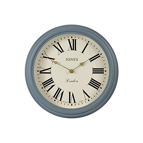 JONES CLOCKS ® die venezianische Wanduhr, große Klassische Wanduhr, perfekt für die Küche/Wohnzimmer/Büro/Haus 30cm