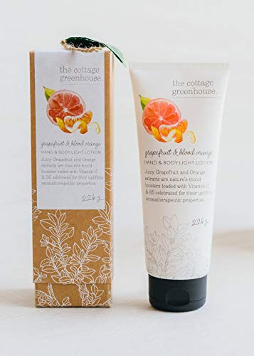 The Cottage Greenhouse Hand & Body Lotion   Lightweight, Moisturizer   Paraben Free, Vegan, Never Animal Tested   Includes Shea Butter   8 oz/226 g