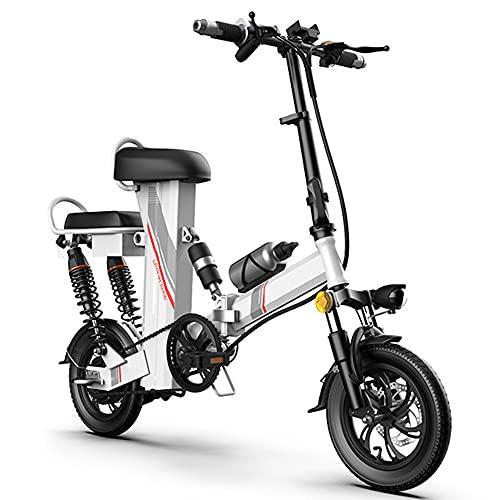 TGHY Bicicleta Eléctrica Plegable para Adultos E-Bike con Motor de 350W Bicicleta...