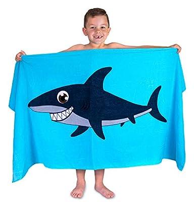 Hudz Kidz Beach Towel for Kids & Toddlers, Perfect for Beach, Pool, Bath