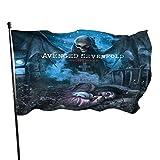 Avenged Sevenfold American Heavy Metal Band Fahnen/Flagge/Gartenfahne/Dekorativer-Verf¨¹gbar In Allen Jahreszeiten?90 X 150 cm?.