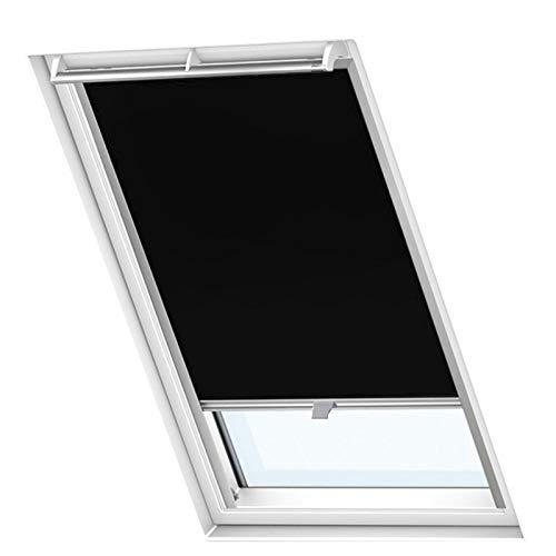 Froadp P06/406 Verdunkelungs Rollos Sonnenschutz Thermorollos Hitzeschutz Velux Jalousien für Dachfenster Fensterdekoration Springrollos GDL/GGL/GGU/GPL/GPU/GXU(77,5×94cm)