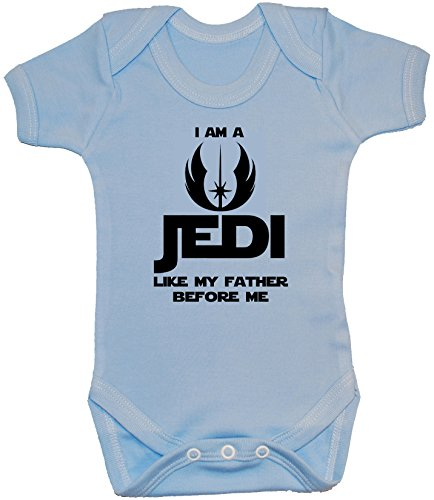 Body pour bébé « I Am a Jedi Like My Father Before Me » 0 à 24 mois - Bleu - XXS