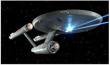 Roddenberry Star Trek TOS Enterprise NCC-1701 Firing Phasers 3-D Print