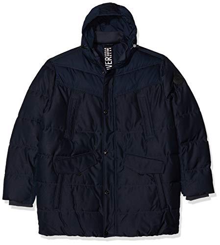 s.Oliver Big Size Herren 28.910.51.2414 Jacke, Blau (Fresh Ink 5952), XXXXX-Large (Herstellergröße: 5XL)