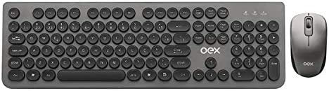 Combo Pop+ Teclado e mouse, Conexão Wireless, OEX