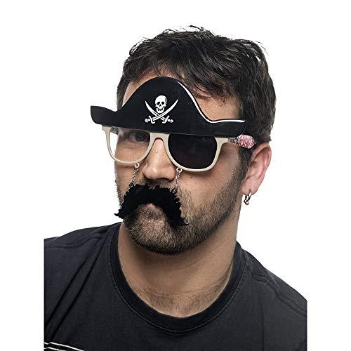 Limit Sport Lunettes de Pirate avec Patch, Taille Unique (cm955)