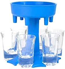 Liquid must be poured into the direct center to ensure even distribution into each shot glass! All shot glasses dispenser are out of food safe plastic,high infill to ensure sturdiness. Having some friends over that like to take shots? Looking to fill...