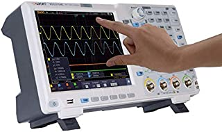 OWON XDS3104AE Oscilloscope, 100 MHz, 4 Channels Standard with Touch Screen I2C / SPI / RS232 decoding/CAN decoding