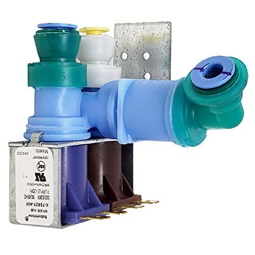 Enterpark 12002193(K-75827) Kühlschrank-Wassereinlassventil von Robertshaw Originalversion, ersetzt 12544102 67001726 67003659 PS2003637