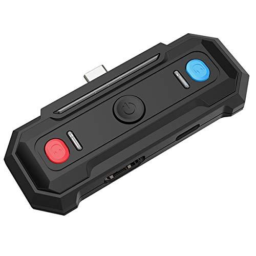 Esenlong Transmisor adaptador de audio inalámbrico w/APTX de baja latencia compatible con conmutador/interruptor Lite/New Air y otros dispositivos habilitados con puerto tipo C.