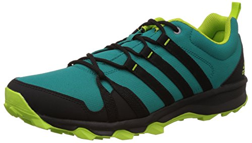 Adidas Men's Trail Rocker Green and Black Trail Running Shoes - 7...