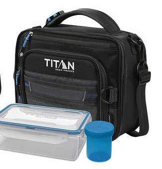 Artic Zone TItan Deep Freeze - Bolsa para el almuerzo, color negro