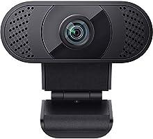wansview Webcam 1080P mit Mikrofon, Webcam USB 2.0 Plug & Play für Laptop, Computer, PC, Desktop, mit automatischer...