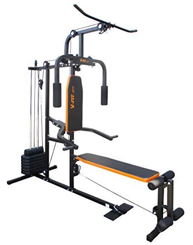 V-Fit LFG2 Herculean COBRA Lay Flat Home Gym 64kg