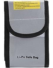 Vuurvaste documententas, Li-Po-veilige tas Draagbare vuurvaste waterdichte opbergtas voor waardevolle spullen voor documentengeld
