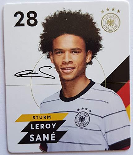 Rewe EM 2020 DFB - Sammelkarten - Normale - Nr. 28 - Leroy Sané - Plus 1 spezielle toysagent Sonderkarte