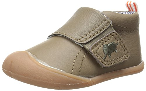 Carter's Every Step Stage 1 Boy's Crawling Shoe, Andy(Infant), Brown, 3 M US Infant