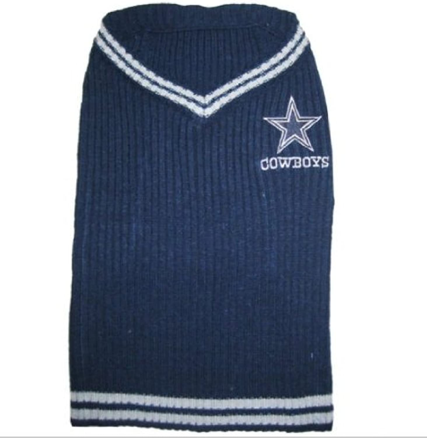 DoggieNation 023508007425 Dallas Cowboys Dog Sweater  Large