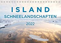 ISLAND - Schneelandschaften (Tischkalender 2022 DIN A5 quer): Magische Winterlandschaften laden zum Traeumen ein. (Monatskalender, 14 Seiten )
